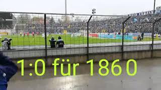 TSV 1860 MÜNCHEN - SG SONNENHOF GROßASPACH 2:2 | Stadion Vlog | 28.10.2018
