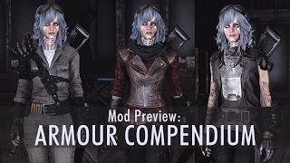 Armour mod preview