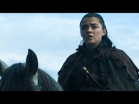 GAME OF THRONES Season 7 Comic-Con Teaser Trailer & Sneak Peek (2017)