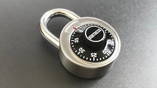 [635] Fortress Combination Padlock Decoded FAST and Bypassed (Model 1850D)