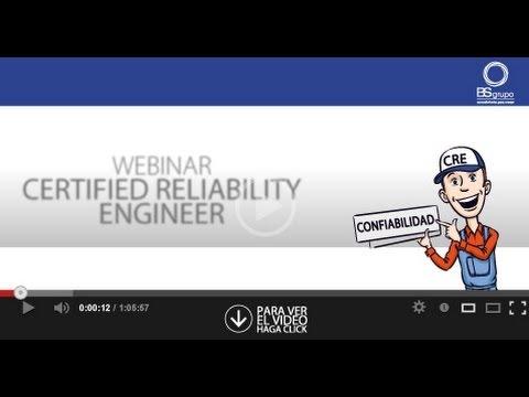 Webinar Certified Reliability Engineer - YouTube
