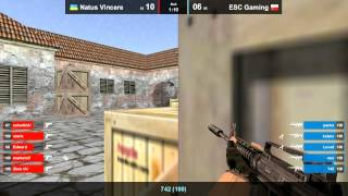 ESC vs. Na`Vi @ mirage map 2