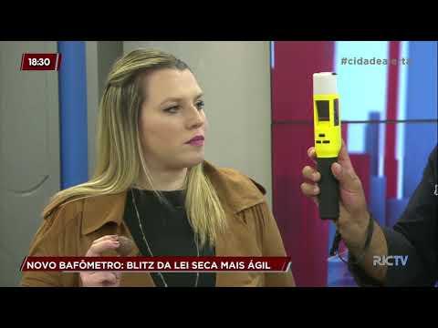Especialista explica como funciona o novo bafômetro, que deve gerar mais agilidade em blitz-Cidade em Alerta