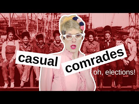 worse and worse with every election - feat. Queer POTUS - casual comrades