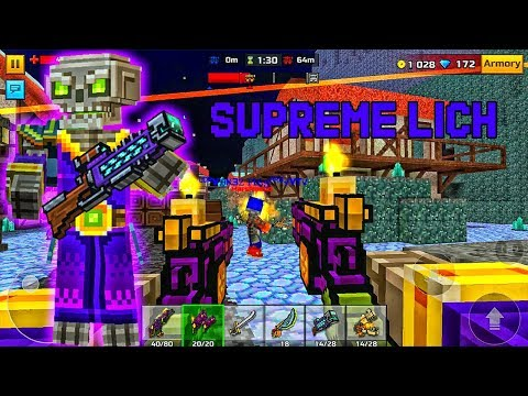 Pixel Gun 3D - Supreme Lich Clan Siege Battle