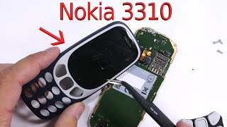 Nokia 3310 (2017) - Teardown - Will it last?