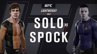 Han Solo vs. Spock (EA Sports UFC 2)