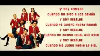 Rbd-rebelde (with lyrics) youtube.