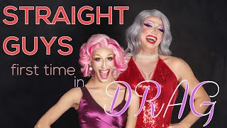 Straight Guys First Time in Drag | Angelina DM Trailz and Logan
