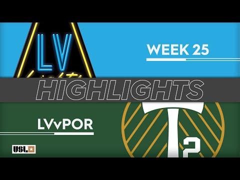 Las Vegas Lights - Портленд 2 1:0. Видеообзор матча 25.08.2019. Видео голов и опасных моментов игры