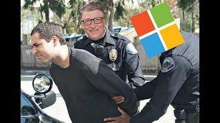 Microsoft case results in prison time for restore CD copier.