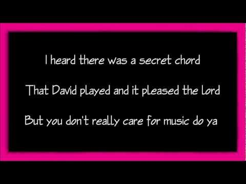 Hallelujah Aleluia Instrumental Leonard Cohen Key G