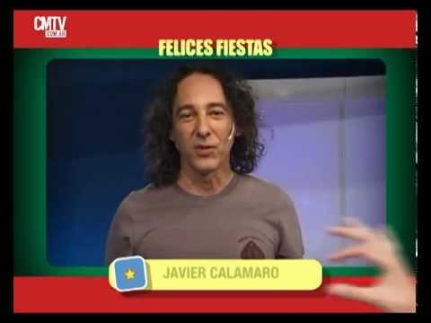 Javier Calamaro video Saludos  - Fiestas 2014/2015