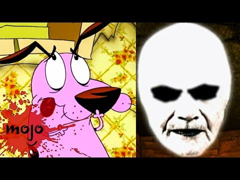 , title : 'Top 10 Scariest Courage the Cowardly Dog Episodes