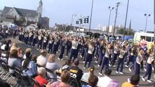 2014 HOF Parade - The Purple Army of Jackson High School