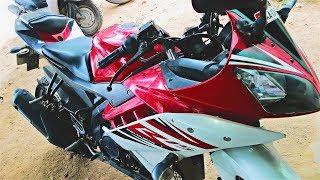 Yamaha R15 changing the cylinder kit - Самые лучшие видео