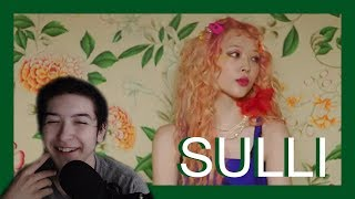 MV Reaction  SULLI 설리   고블린 (Goblin)