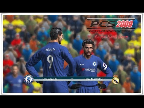 PES 2009 PATCH 2017 ( GAMEPLAY ) Bayern de München vs Real