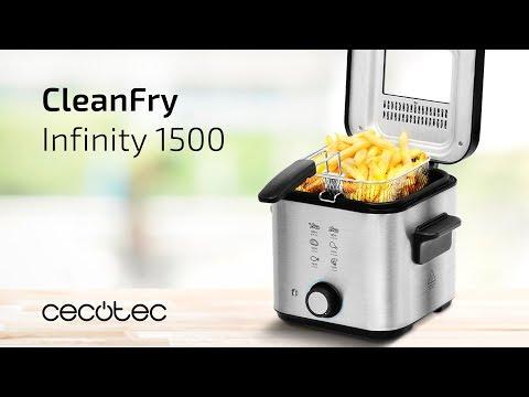 Freidora CleanFry Infinity 1500 Cecotec