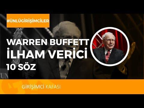 Warren Buffett'ın Tarihe Damga Vuran 10 Sözü