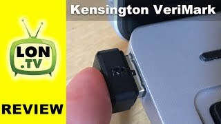 Add a fingerprint reader to your PC: Kensington VeriMark USB Review - Windows Hello / Fido U2F