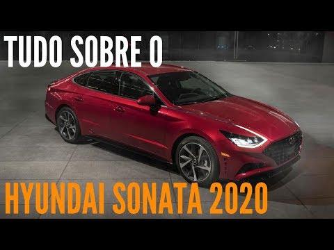 🚗 Tudo sobre a nova geração do HYUNDAI SONATA 2020 - BlogAuto