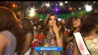 Yamelin Ramirez Cota Nuestra Belleza Mundo Mexico 2014 Crowning