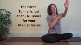 Simple Carpal Tunnel Stretch at Work Yoga