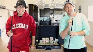 PLAYING BEST FRIEND IN $20,000 POOL GAME!!!