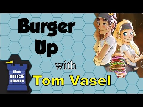 Burger Up Review - with Tom Vasel