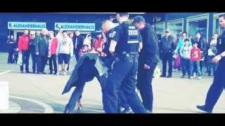 Street Fight In Berlin