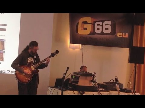 Dutch Axefest 2016 Fractal Audio ax8 Solo Guitar Clip - Jens