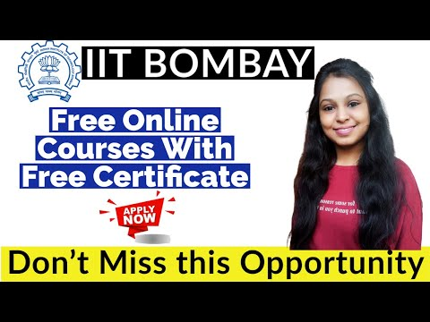 IIT Bombay Online Courses With Certificate | Short Term Course ...