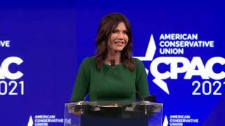 Patriotyczne przemówienie Kristi Noem, gubernator Południowej Dakoty na konferencji CPAC | Napisy PL