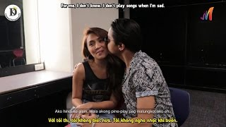 (Engsub - Vietsub) KathNiel Interview  One Music Exclusive