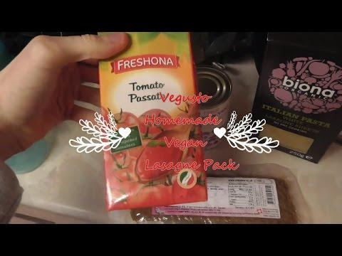 Vegusto Pack Homemade Vegan Lasagne Recipe