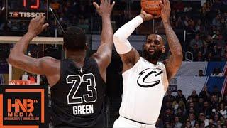 Team LeBron vs Team Stephen 1st Half Highlights / Feb 18 / 2018 NBA All-Star Game
