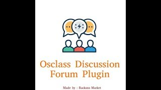 Osclass Multilanguage Discussion Forum Plugin - Community classified forum  - Made by Rackons