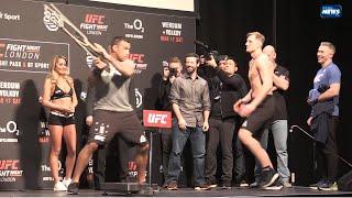 UFC Fight Night 127: Werdum vs Volkov, official weigh-in