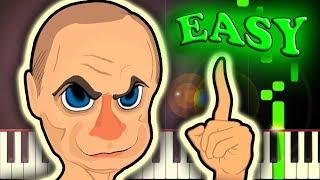 RA RA RASPUTIN - Easy Piano Tutorial