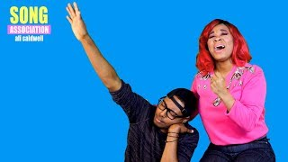 Ali Caldwell sings Toni Braxton, Ciara, and Mariah Carey | SONG ASSOCIATION