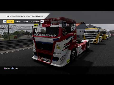 Truck Racing Championship - ETRC Round 5: Autodrom Most, Day 1 Practice 1 * No Commentary Long Play
