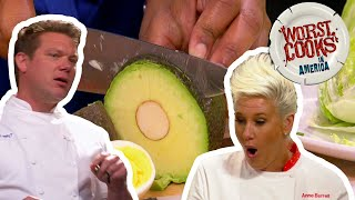 Most-SHOCKING Moments On Worst Cooks In America | Food Network