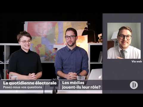 La quotidienne électorale: les médias jouent-ils leur rôle?