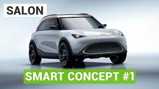La Smart Concept One au salon de Munich