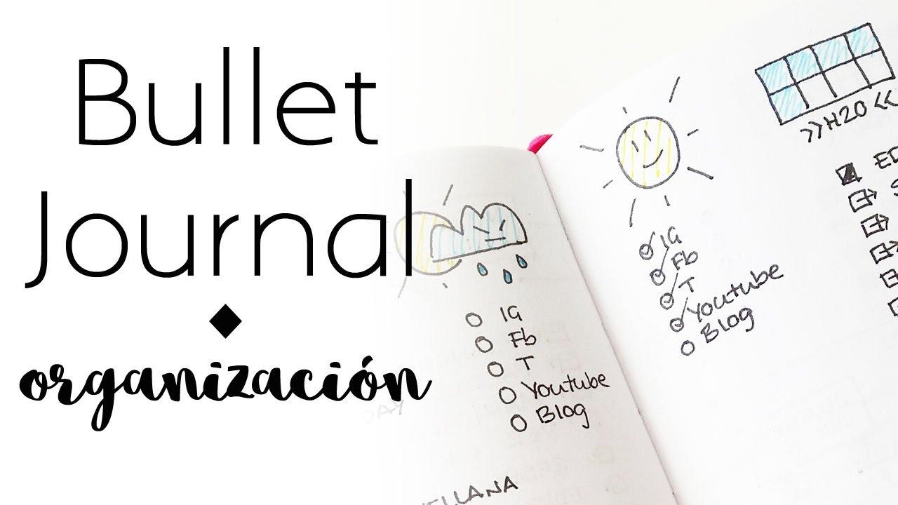 Cómo organizo el bullet journal | Bullet Journal | Organización