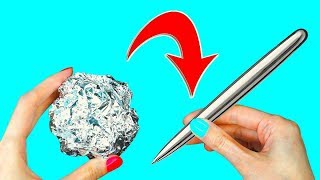 Casting Mirror Polished Japanese Foil Ball from Molten Aluminium ? - Video Youtube