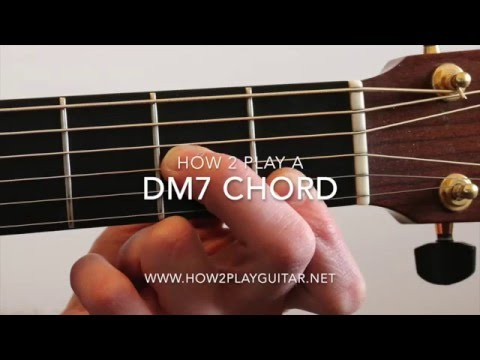 How to play a Dm7 Chord on guitar
