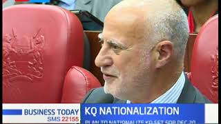 National Carrier requires Ksh 45 Billion, plan to Nationalize KQ set for 20TH December