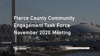 November 2020 Meeting